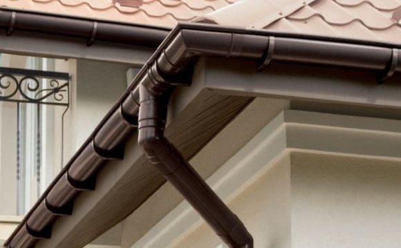 Водостоки для крыши своими